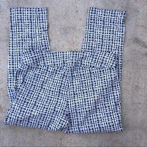 Peck &peck petite 14p plaid casual pants